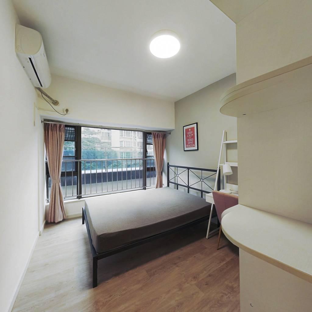 合租·自在城市花园一二期 3室1厅 西北卧室图