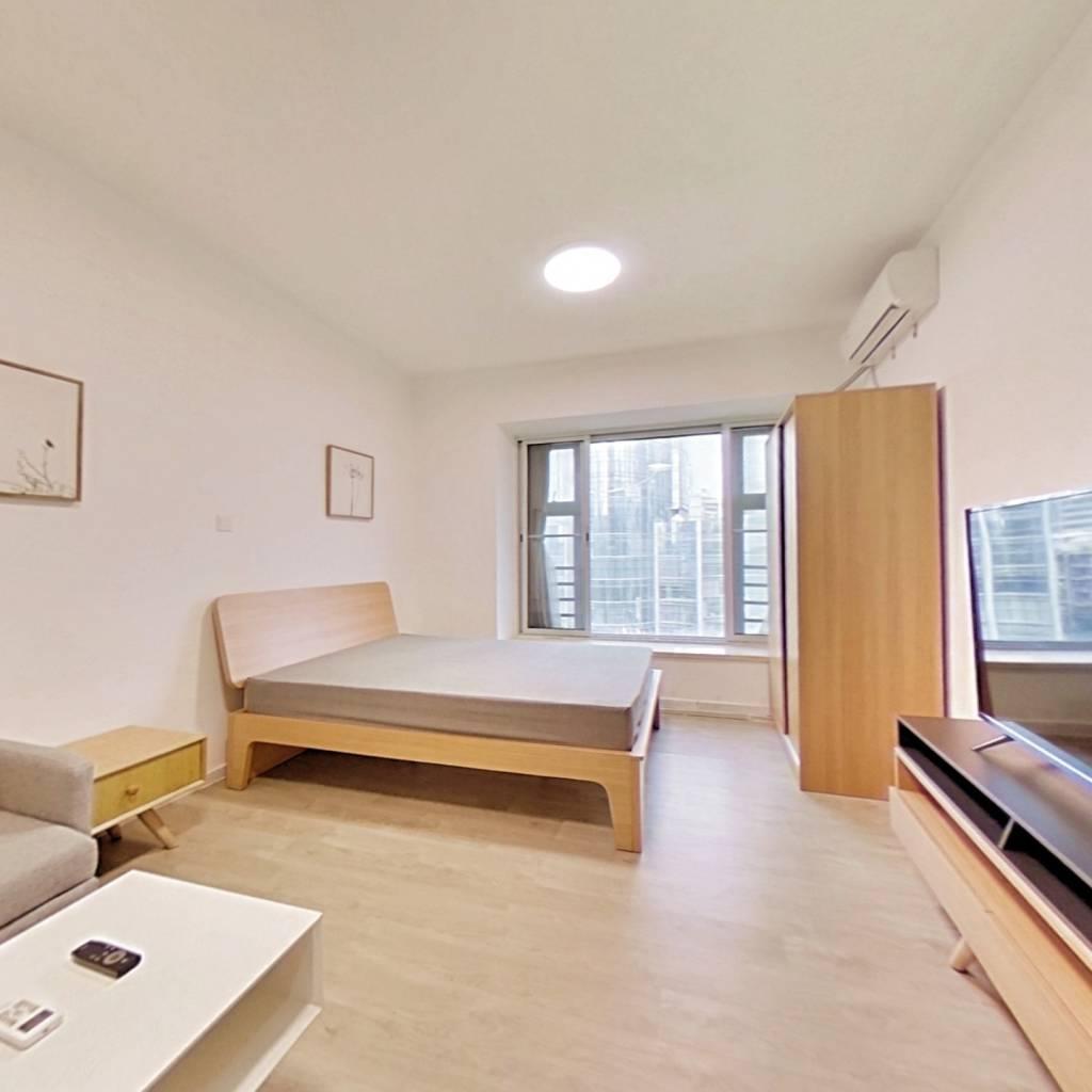 整租·嘉诚国际公寓 1室1厅 南卧室图