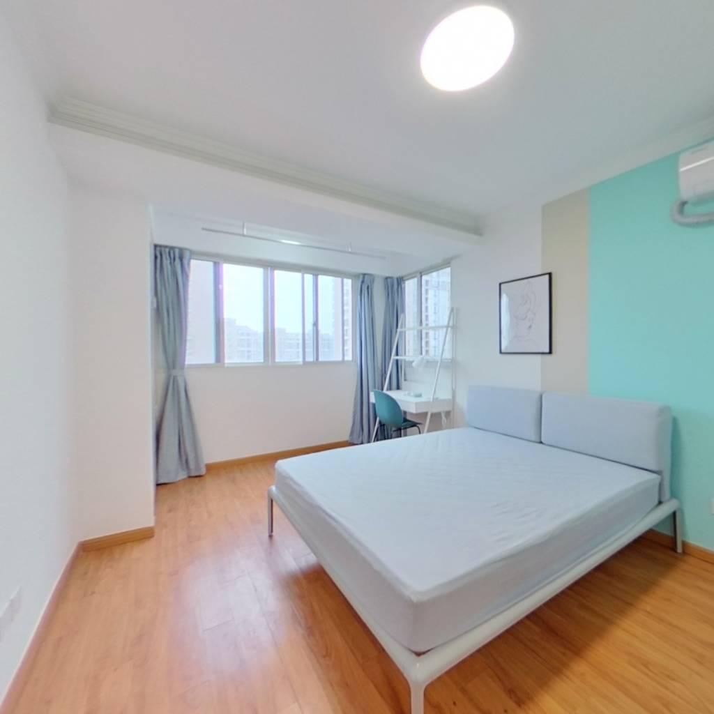 合租·地杰国际城D街坊 3室1厅 南卧室图