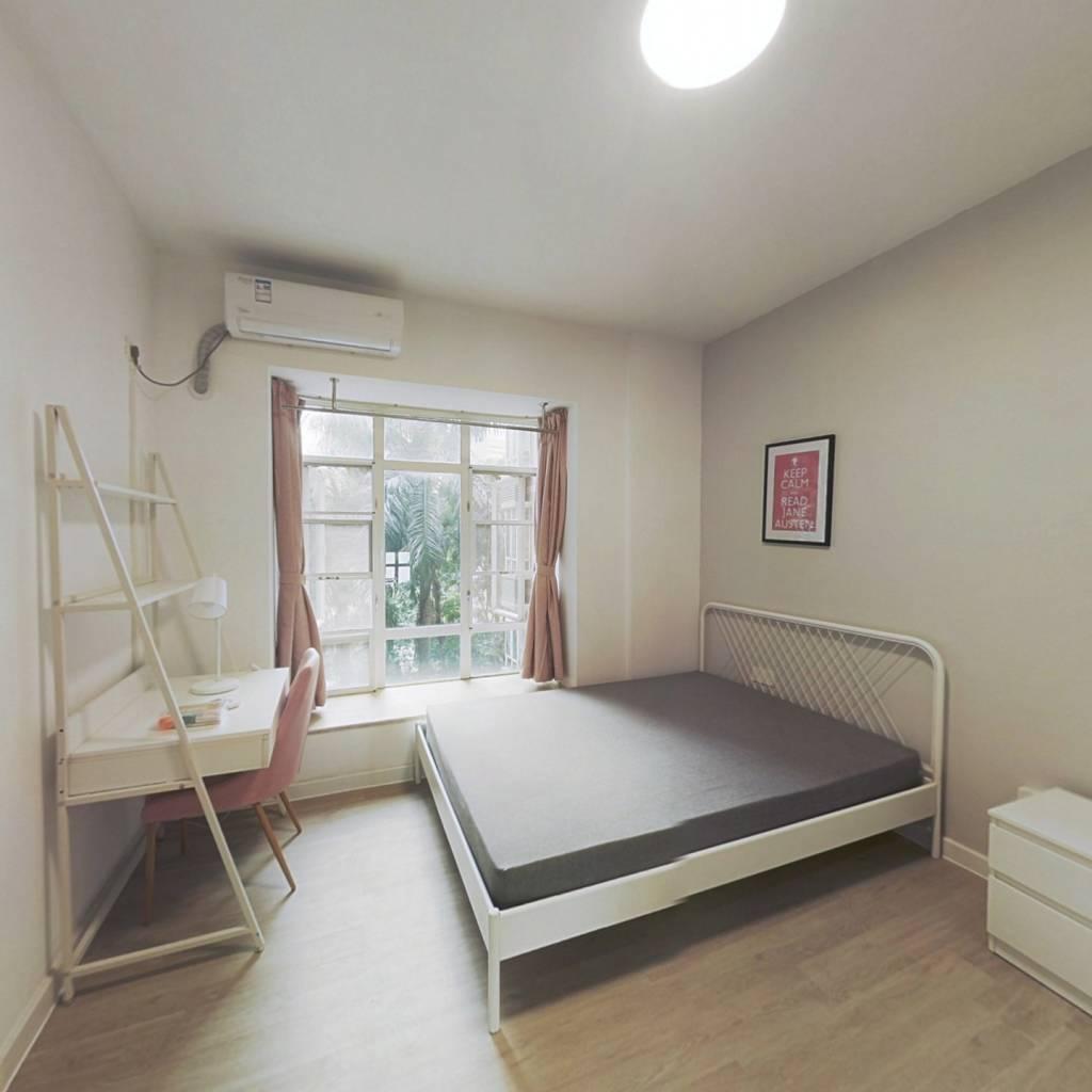 合租·怡新花园 4室1厅 北卧室图
