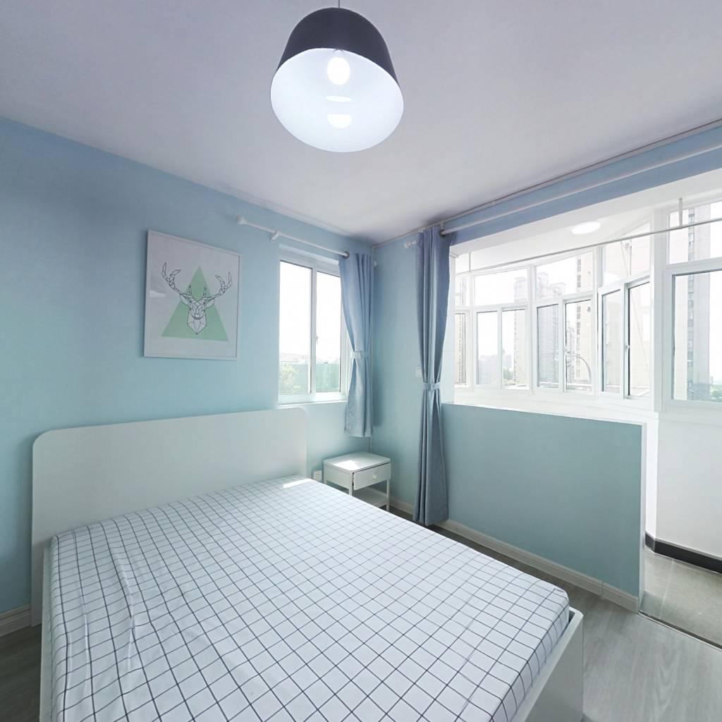 整租·桃浦七村雪松苑 1室1厅 西卧室图