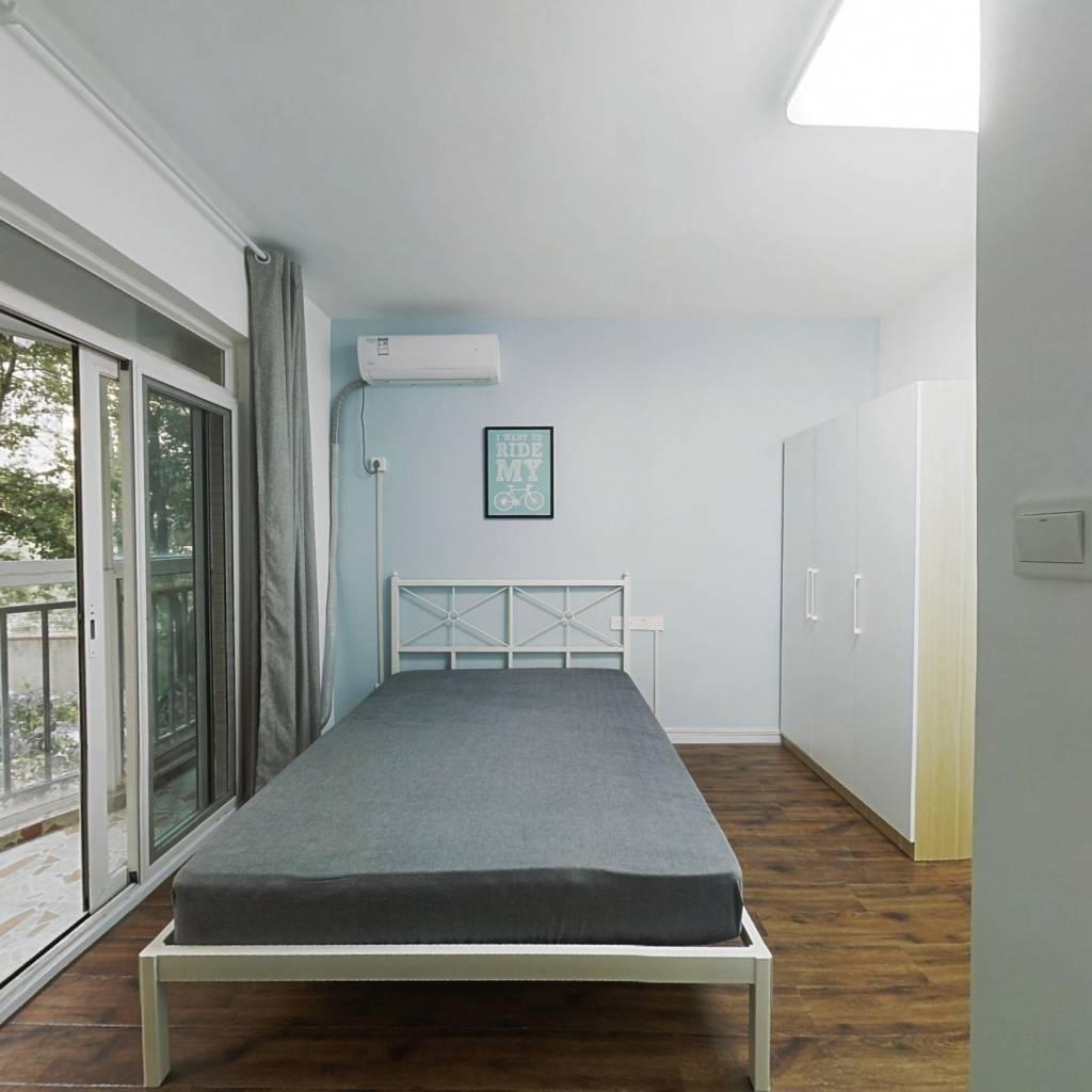 合租·安顺家园 3室1厅 北卧室图