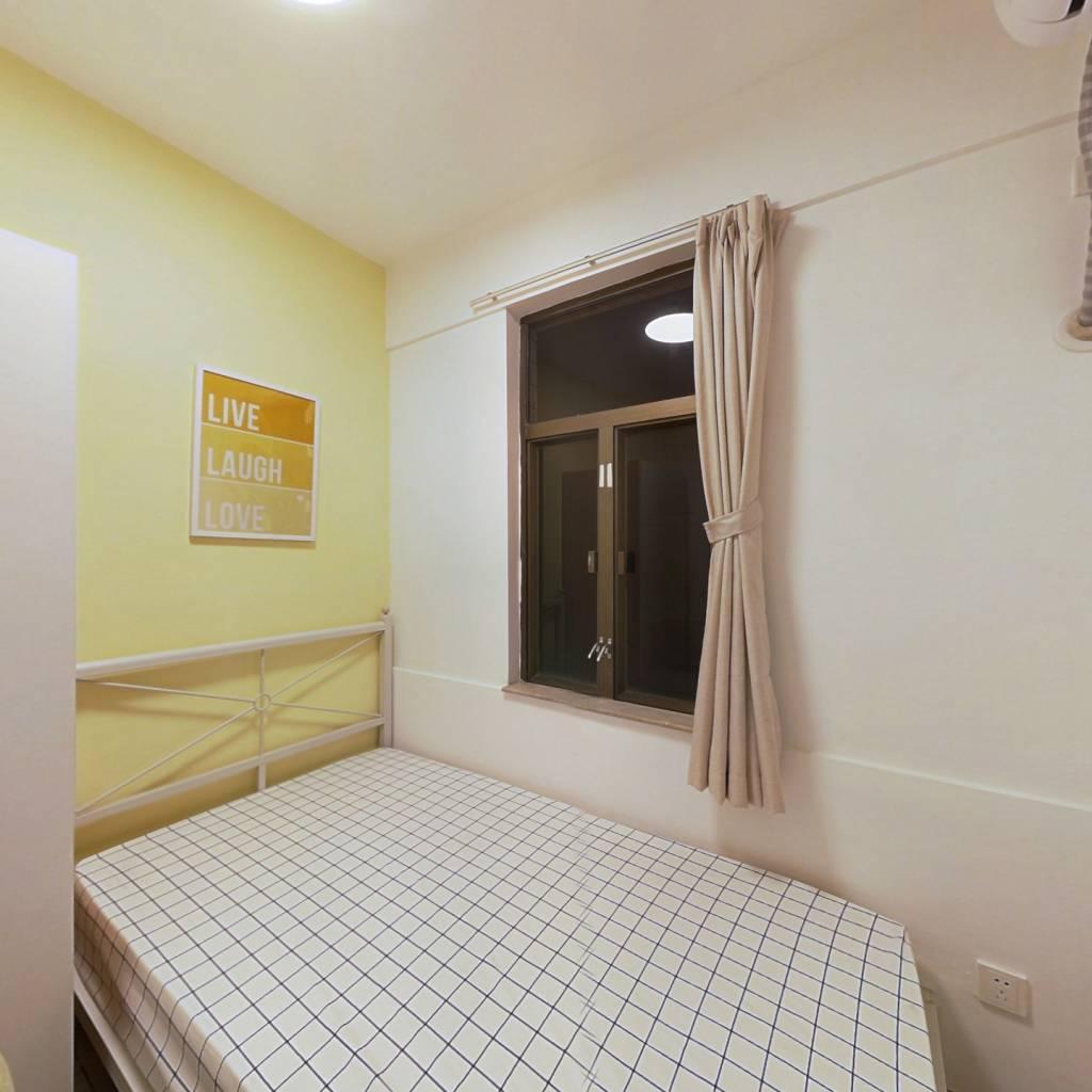 合租·华景新城信华花园 4室1厅 北卧室图