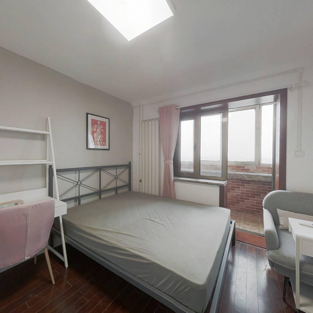 合租·柳林馆 3室1厅 北卧室图