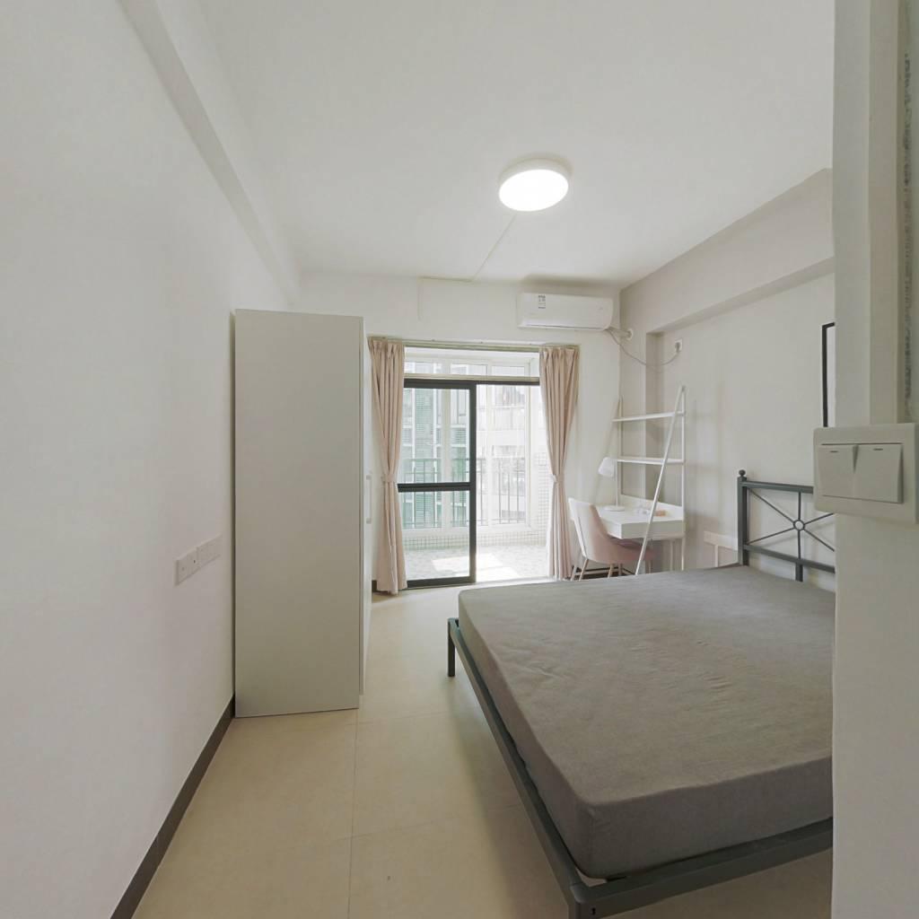 合租·旭日雅苑 4室1厅 北卧室图