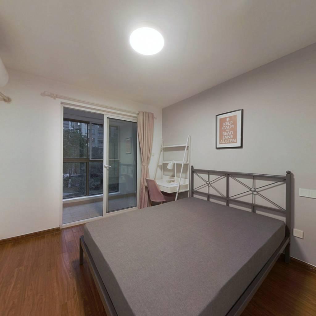 合租·洲岛家园 3室1厅 南卧室图