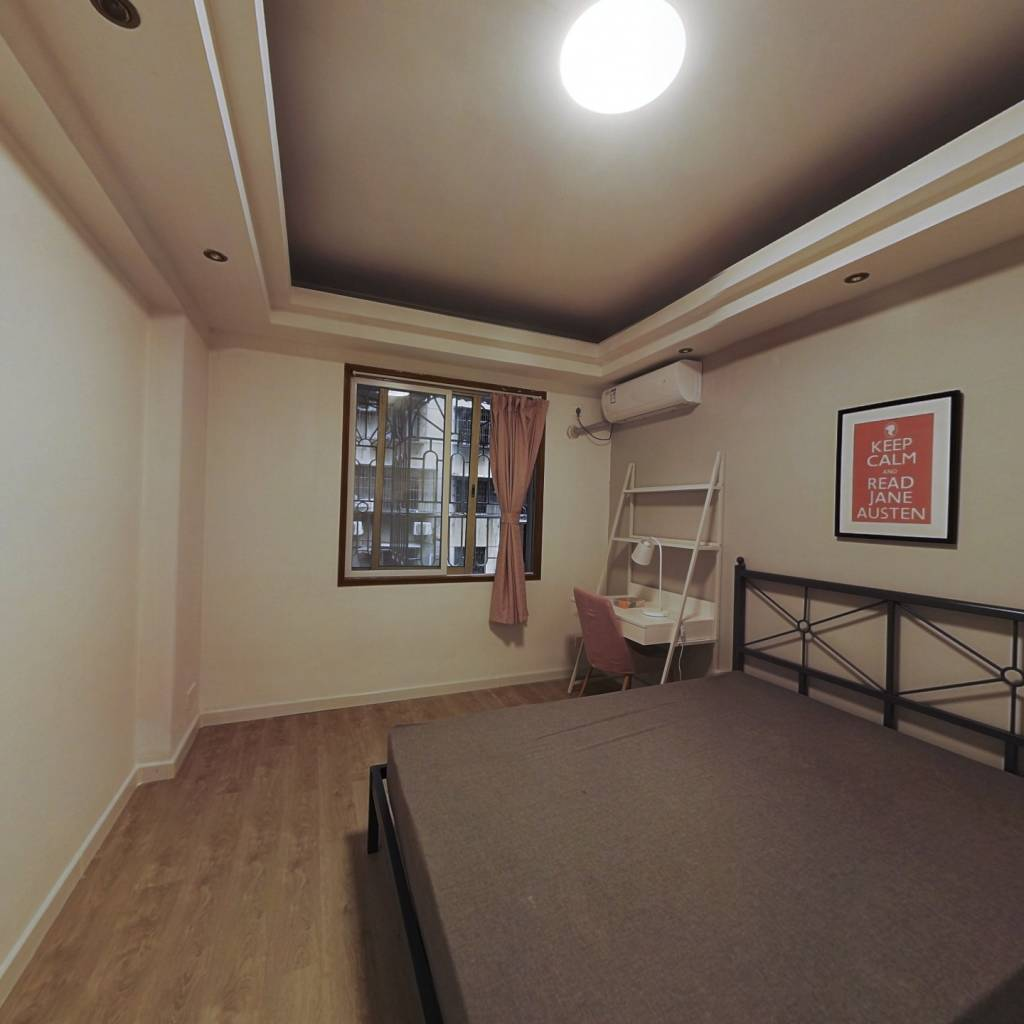 合租·天河路 4室1厅 北卧室图