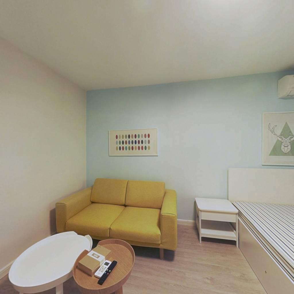 整租·雅安东里 1室1厅 南卧室图