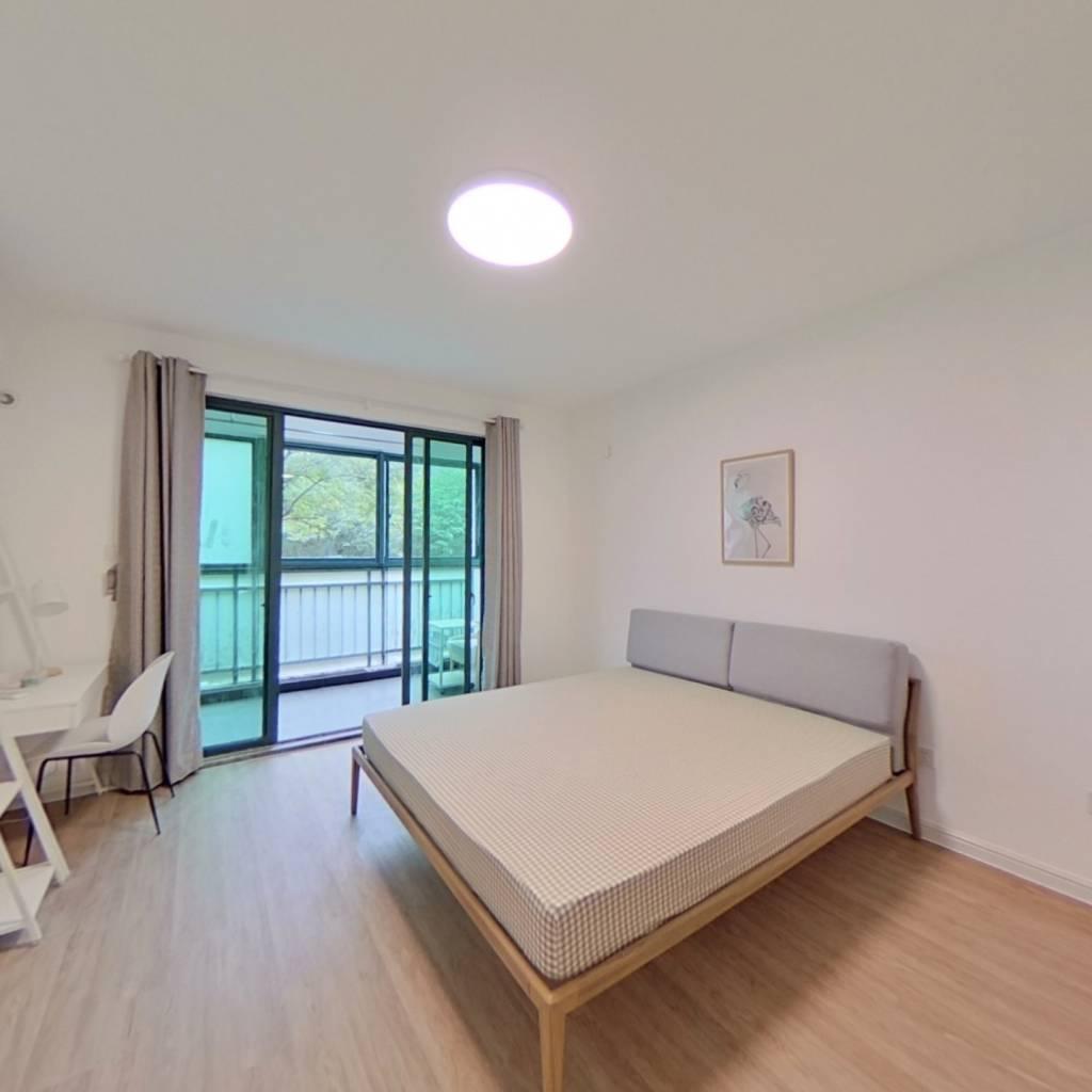 合租·知雅汇(公寓) 4室1厅 北卧室图