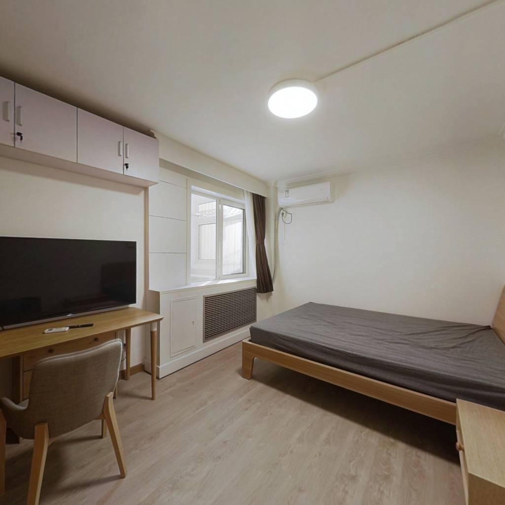 整租·车公庄中里 1室1厅 西卧室图