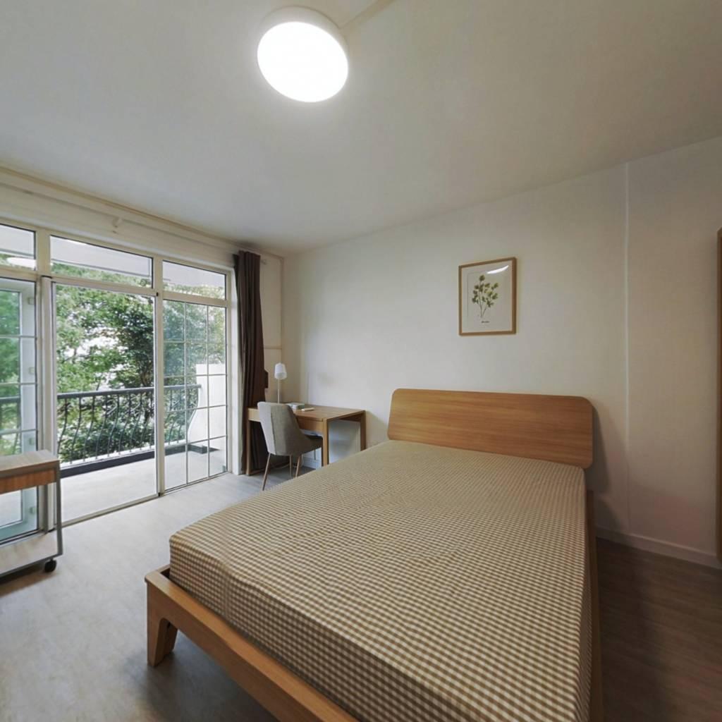 合租·万科城市花园 4室1厅 北卧室图