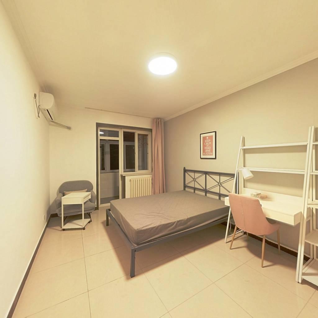 合租·劲松四区 2室1厅 北卧室图