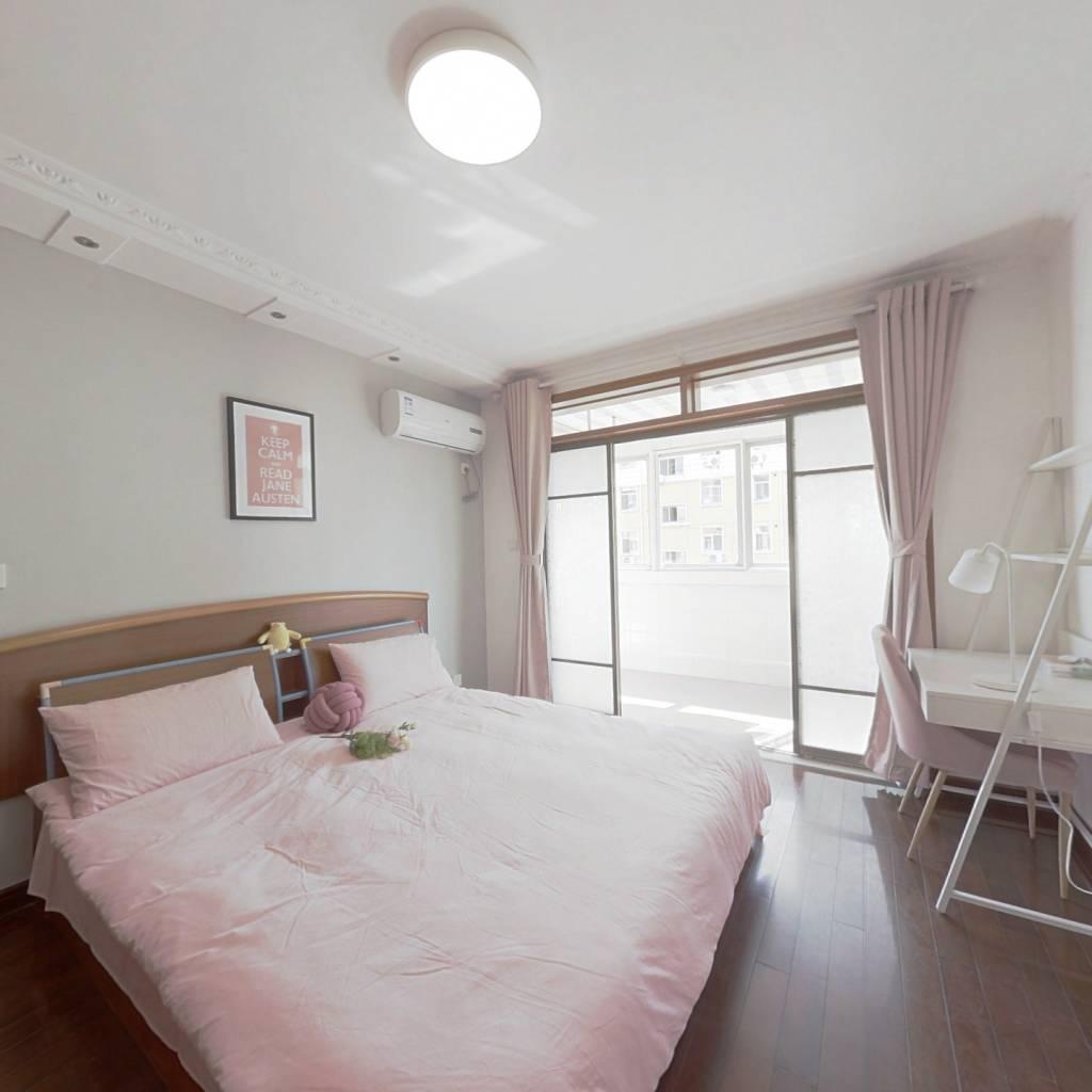 合租·太平花苑北区 4室1厅 北卧室图