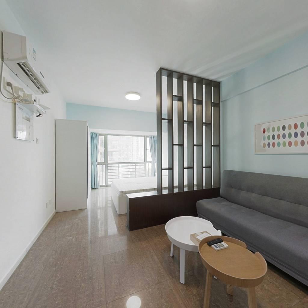 整租·新一代国际公寓 1室1厅 北卧室图