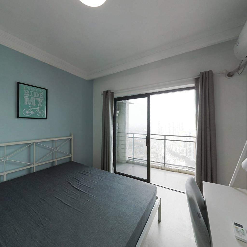 合租·中海橡园国际 3室1厅 北卧室图