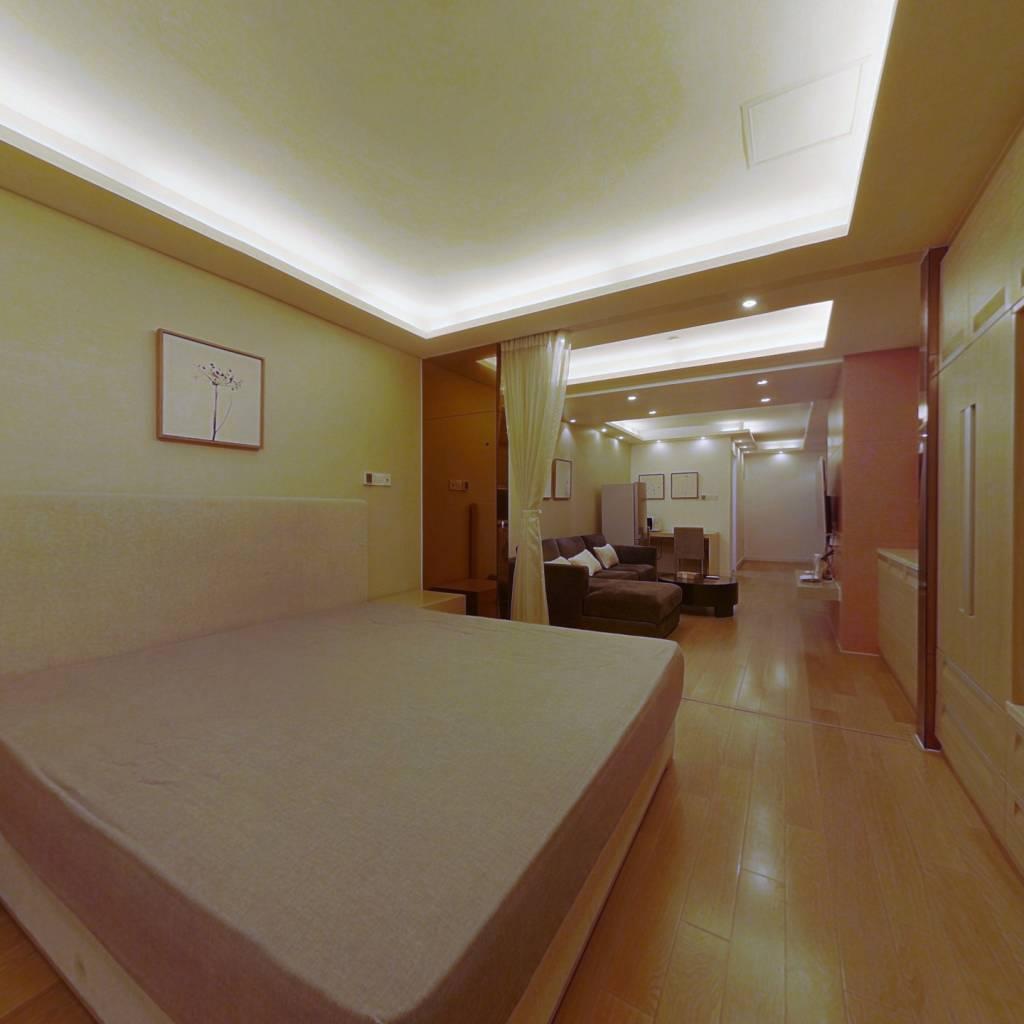 整租·静安艺庭 1室1厅 北卧室图