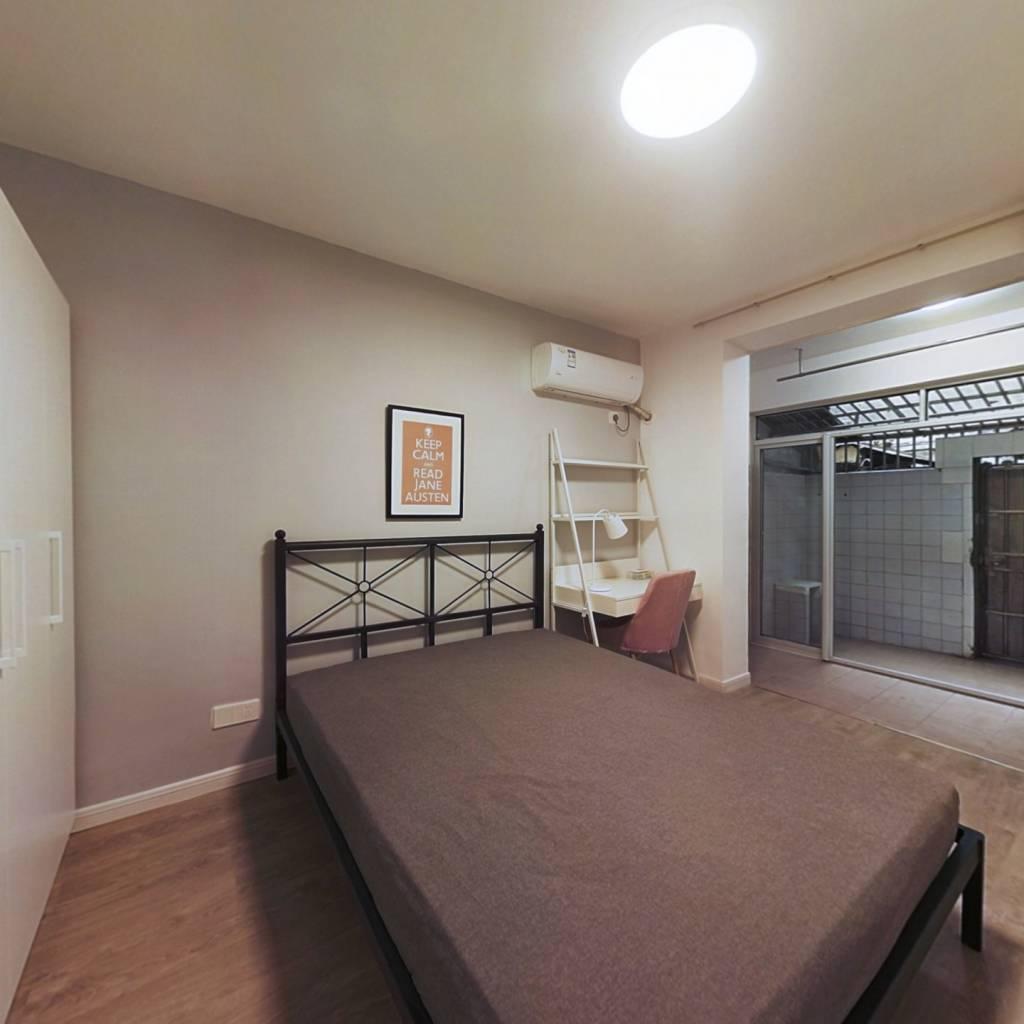 合租·金银街17号 3室1厅 南卧室图