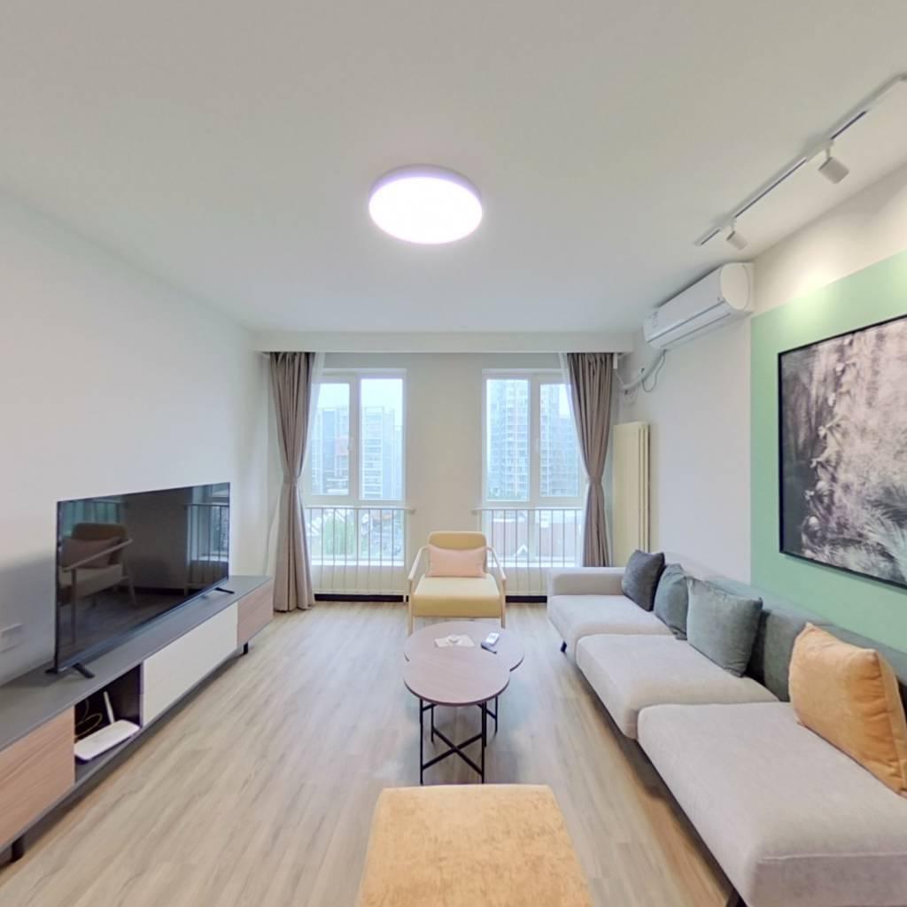 整租·后现代城C区 2室1厅 卧室图