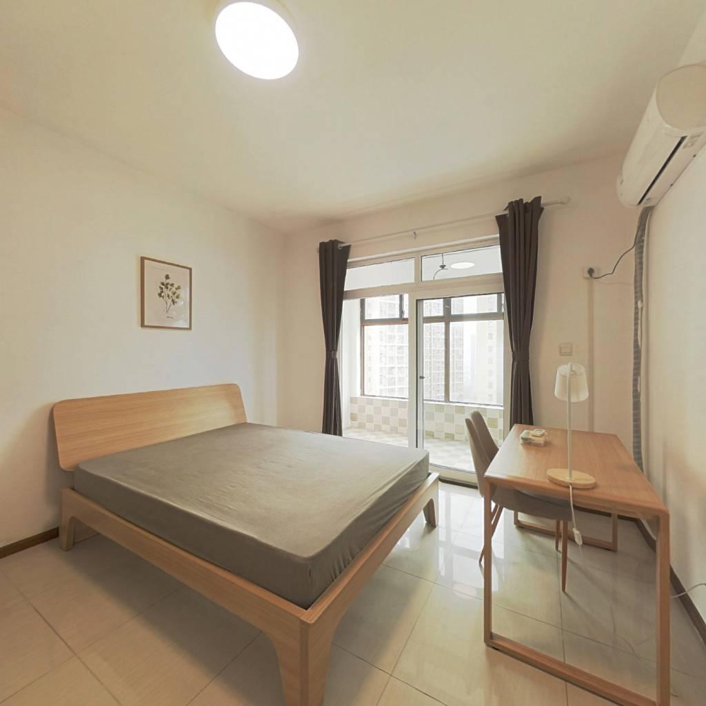 合租·锦蓉佳苑 3室1厅 北卧室图