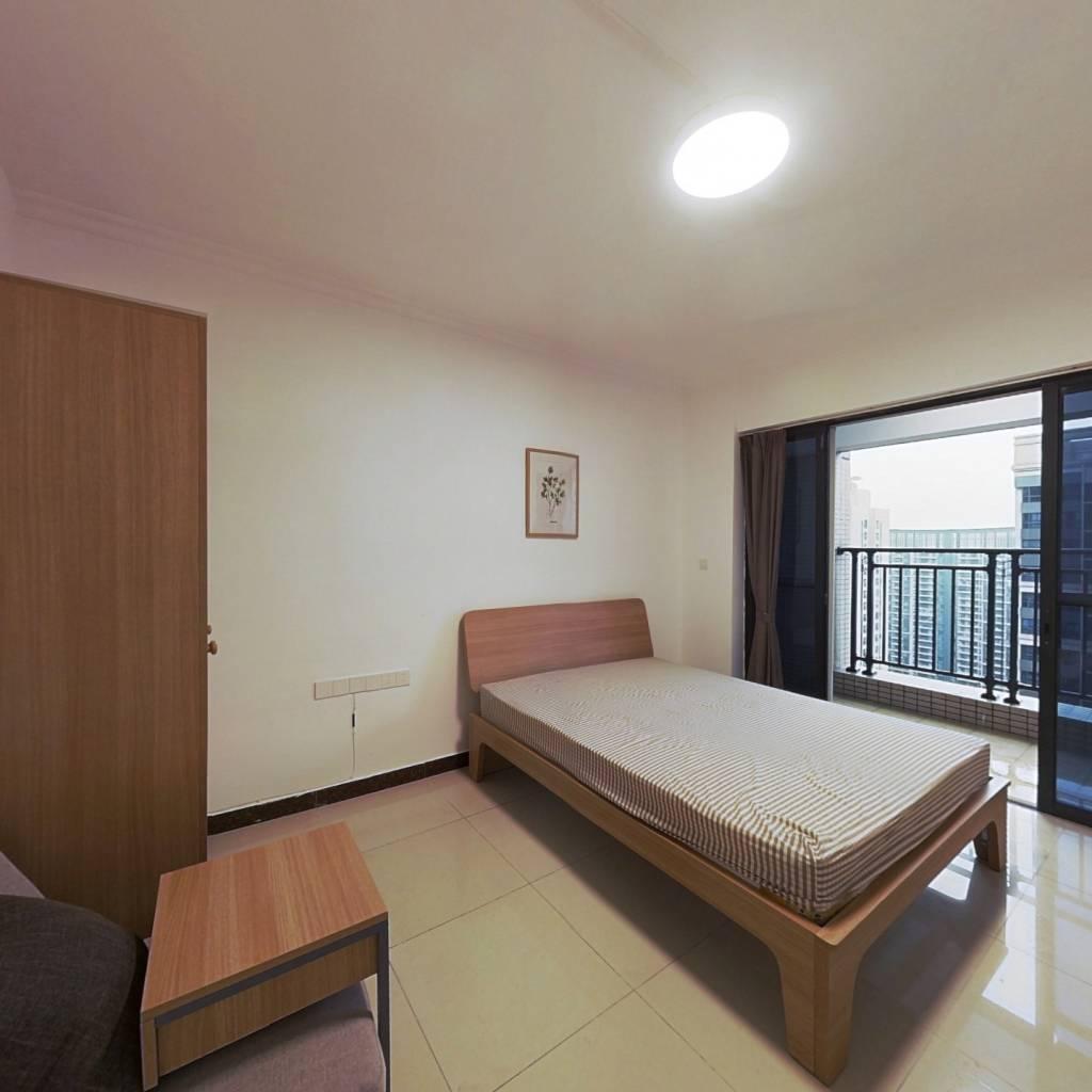 合租·琶洲新村 3室1厅 北卧室图