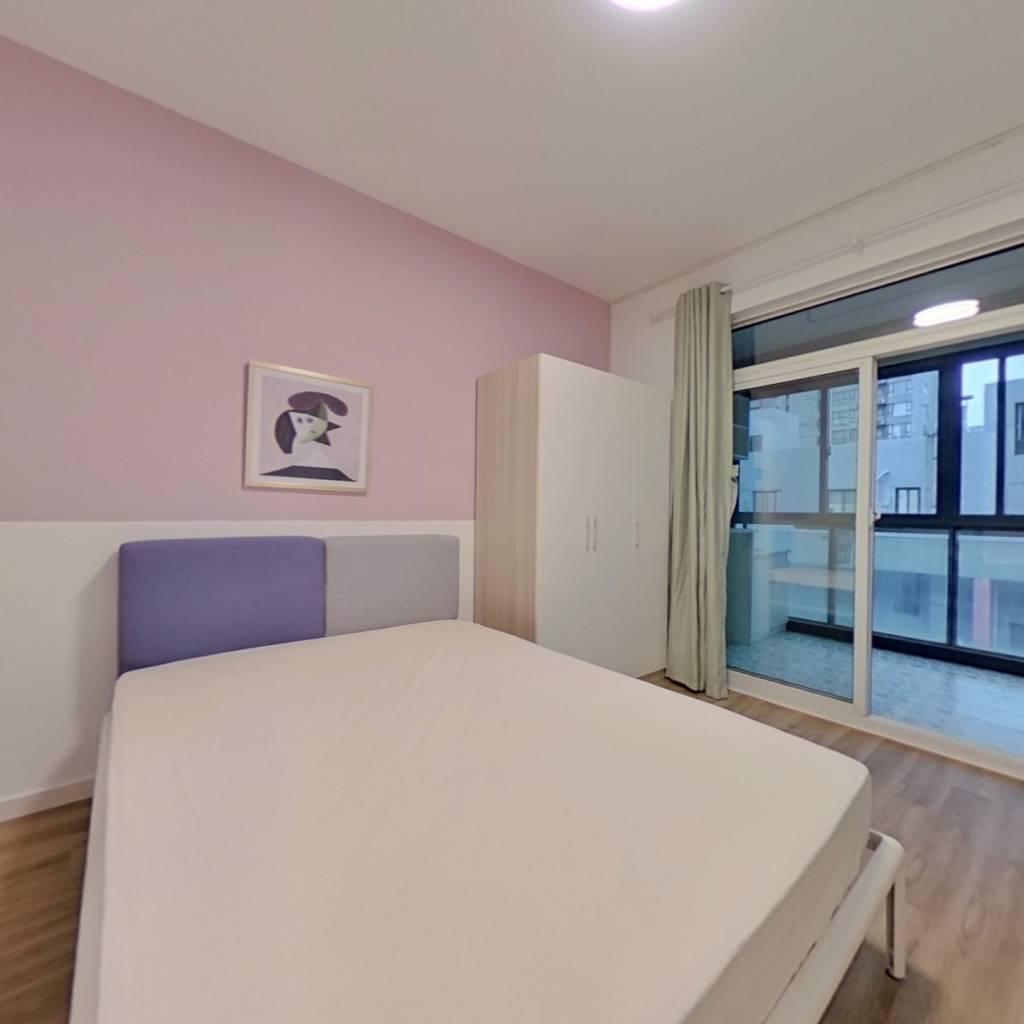 合租·清江山水 4室1厅 南卧室图
