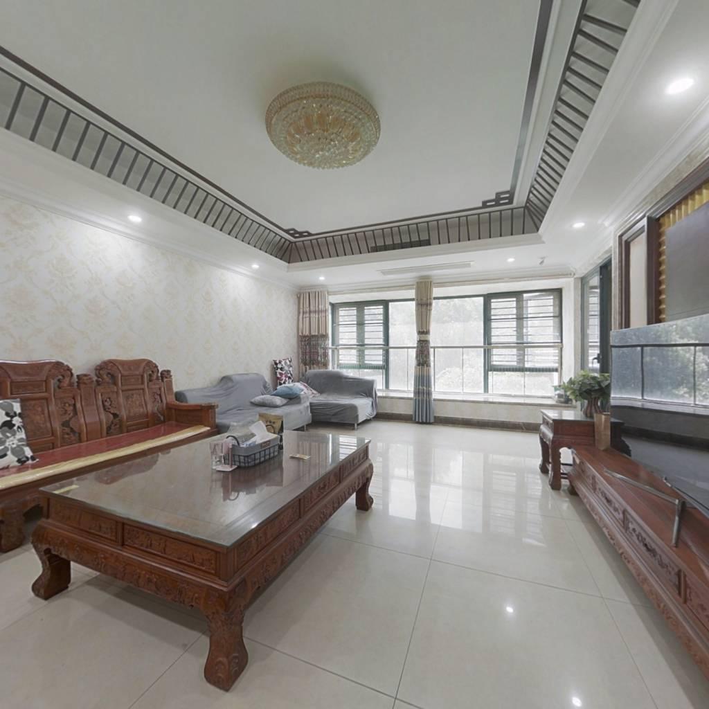 经典五居室,阳面大客厅,带飘窗,采光面宽,动静分离