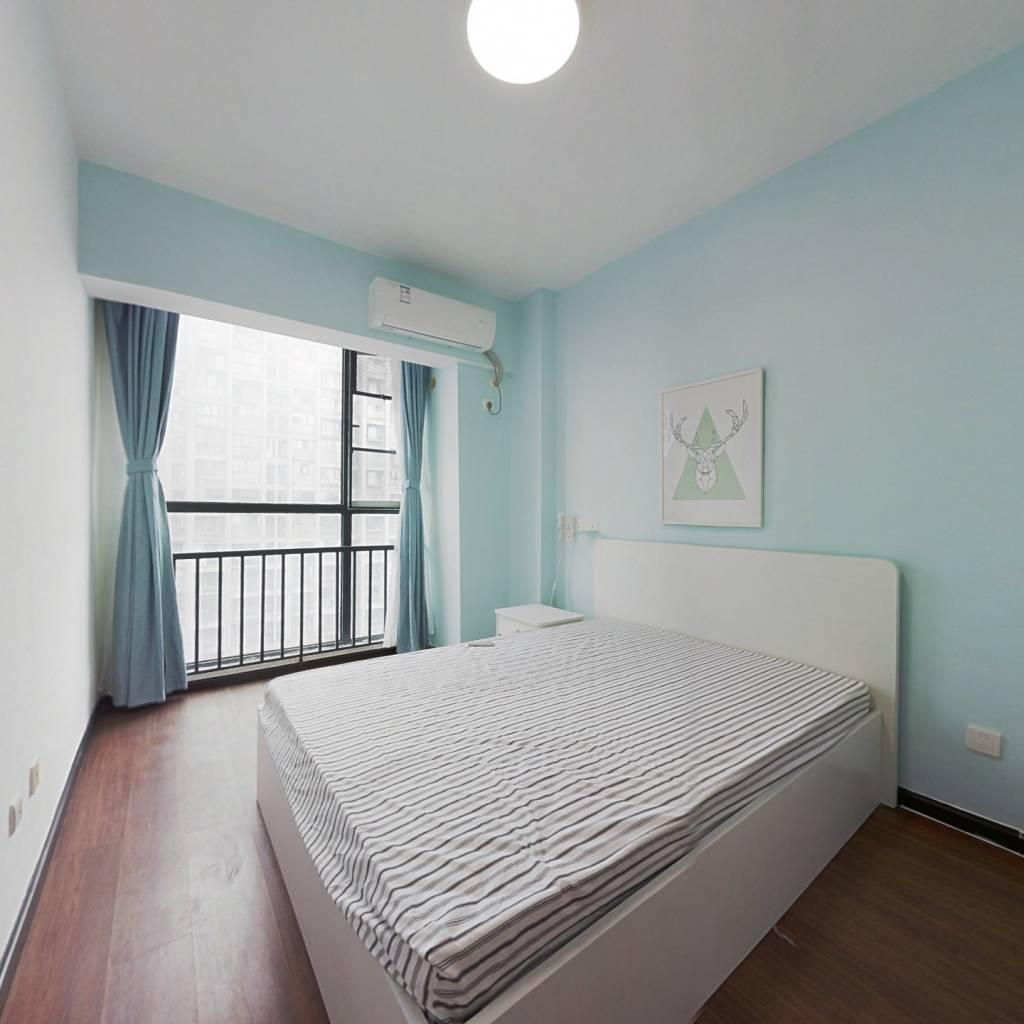 整租·国嘉新视界 2室1厅 西南卧室图