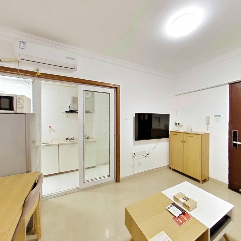 整租·白金假日公寓 1室1厅 南卧室图