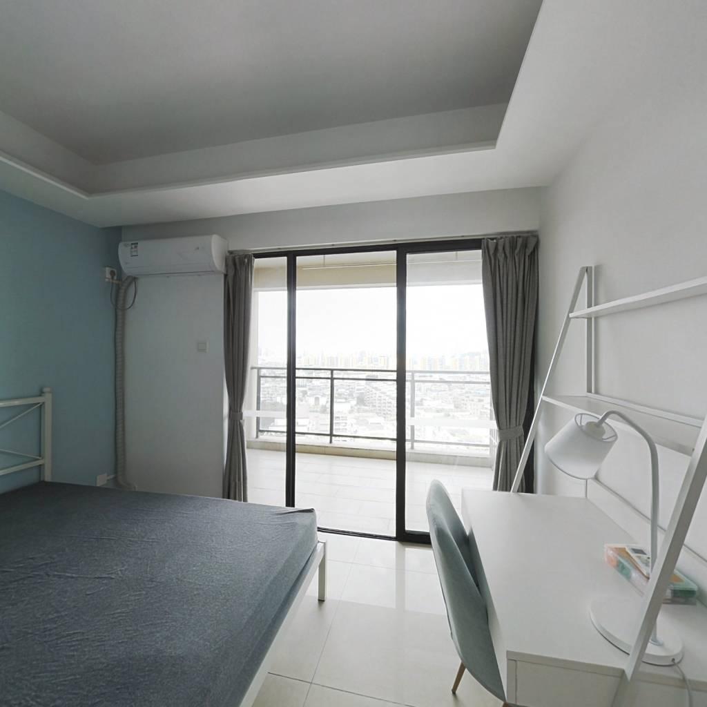 合租·金域蓝湾 4室1厅 西卧室图