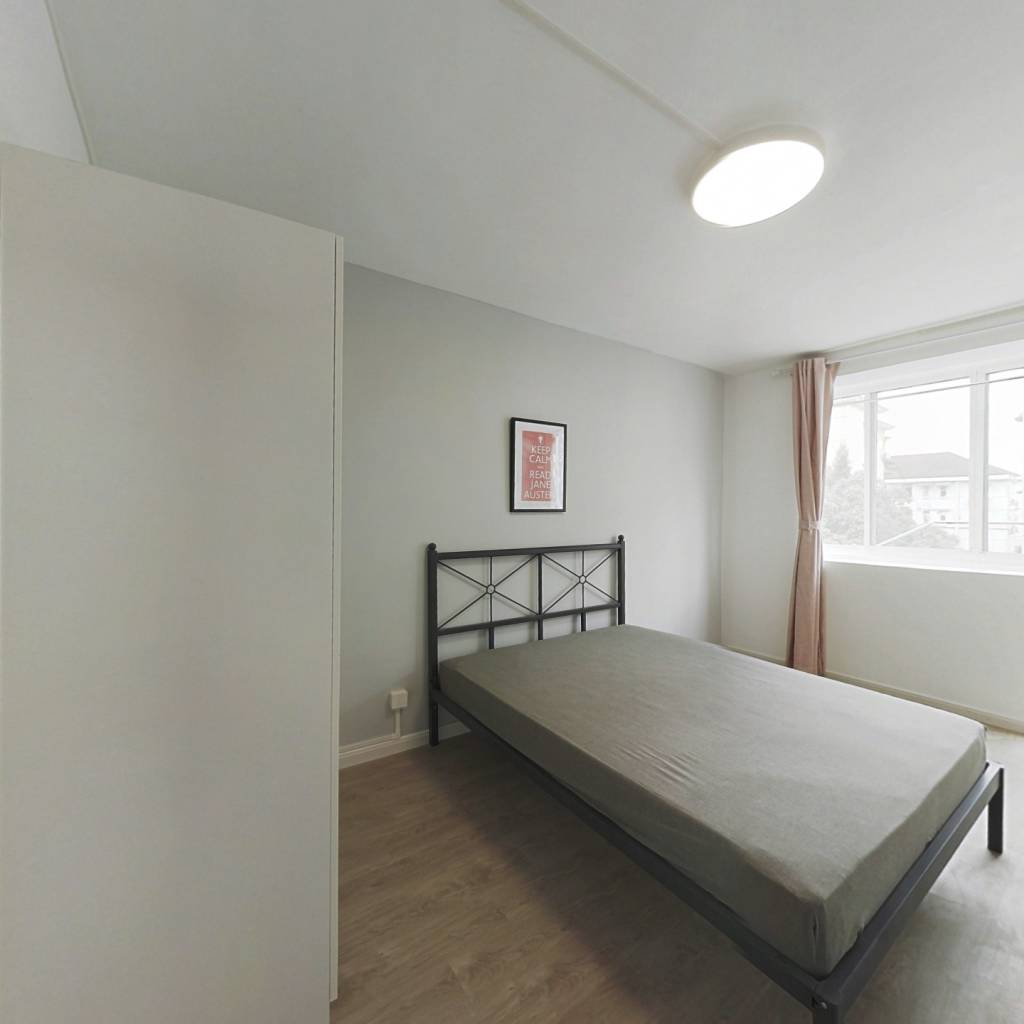 合租·虹桥小区 3室1厅 南卧室图