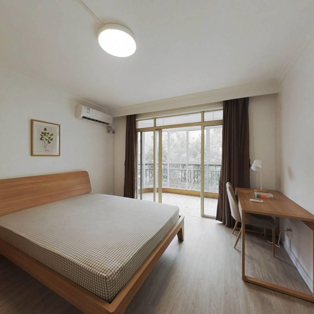 合租·虹康花苑(一期) 4室1厅 北卧室图