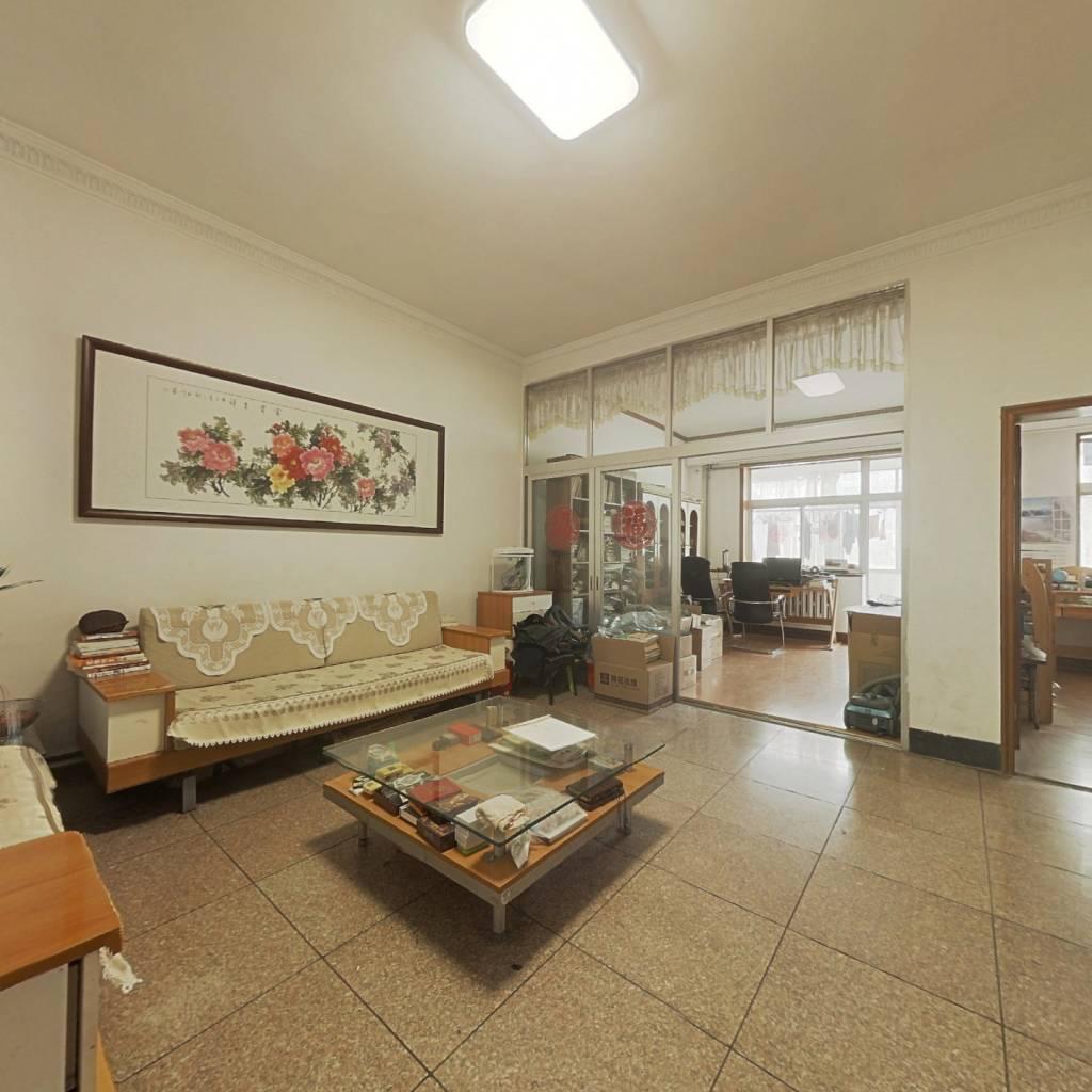 马鞍山路单位宿舍 大院停车 两室朝阳 有地下室