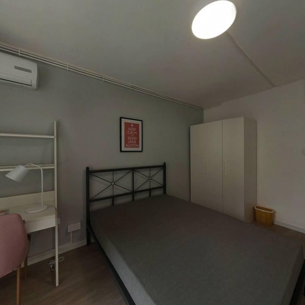 合租·定西路1235弄 3室1厅 东卧室图
