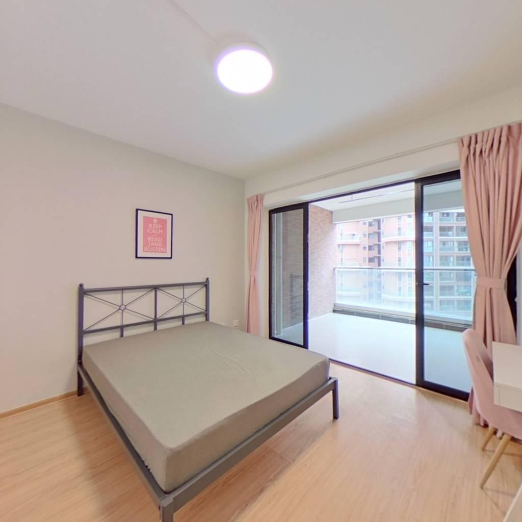 合租·中德英伦联邦B区 4室1厅 东卧室图