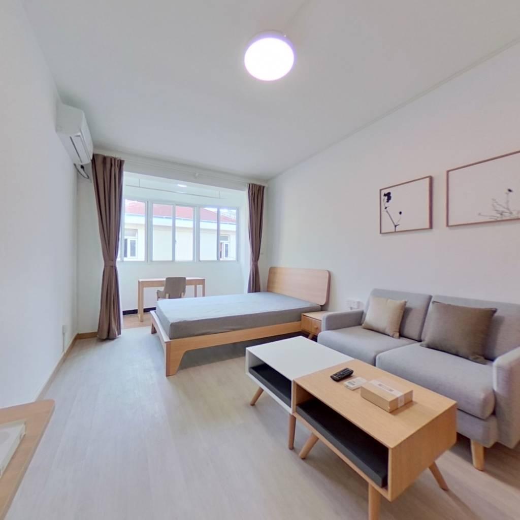 整租·甘泉三村 1室1厅 南卧室图