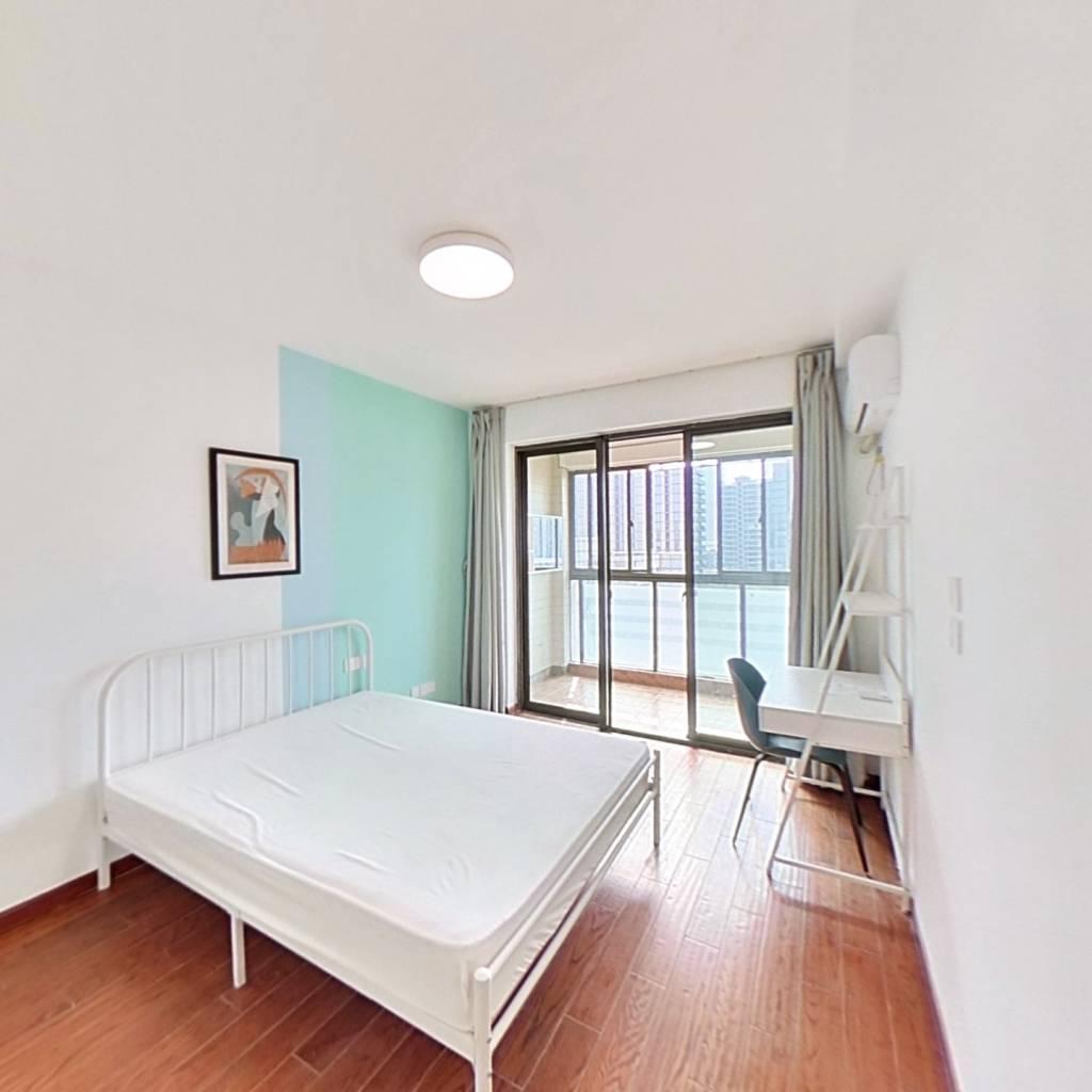 合租·广景苑 4室1厅 北卧室图