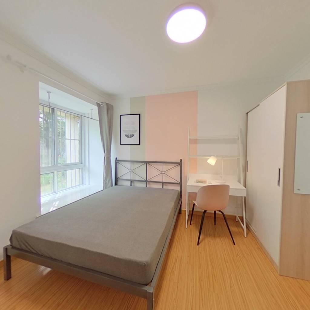 合租·紫金墨香苑 3室1厅 北卧室图