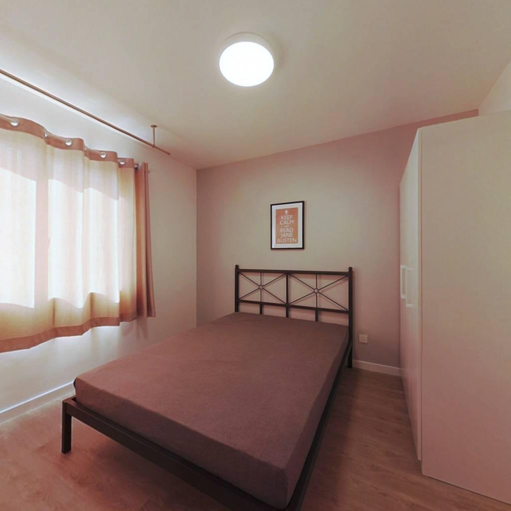 合租·银龙鑫苑 4室1厅 北卧室图