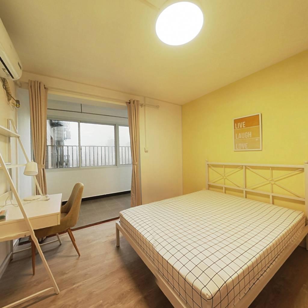 合租·海富公寓 4室1厅 南卧室图