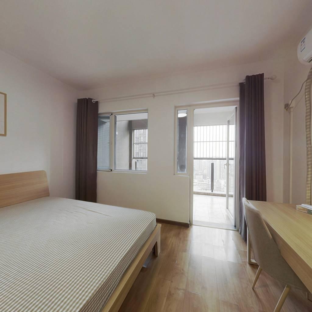 合租·西府少城 4室1厅 南卧室图