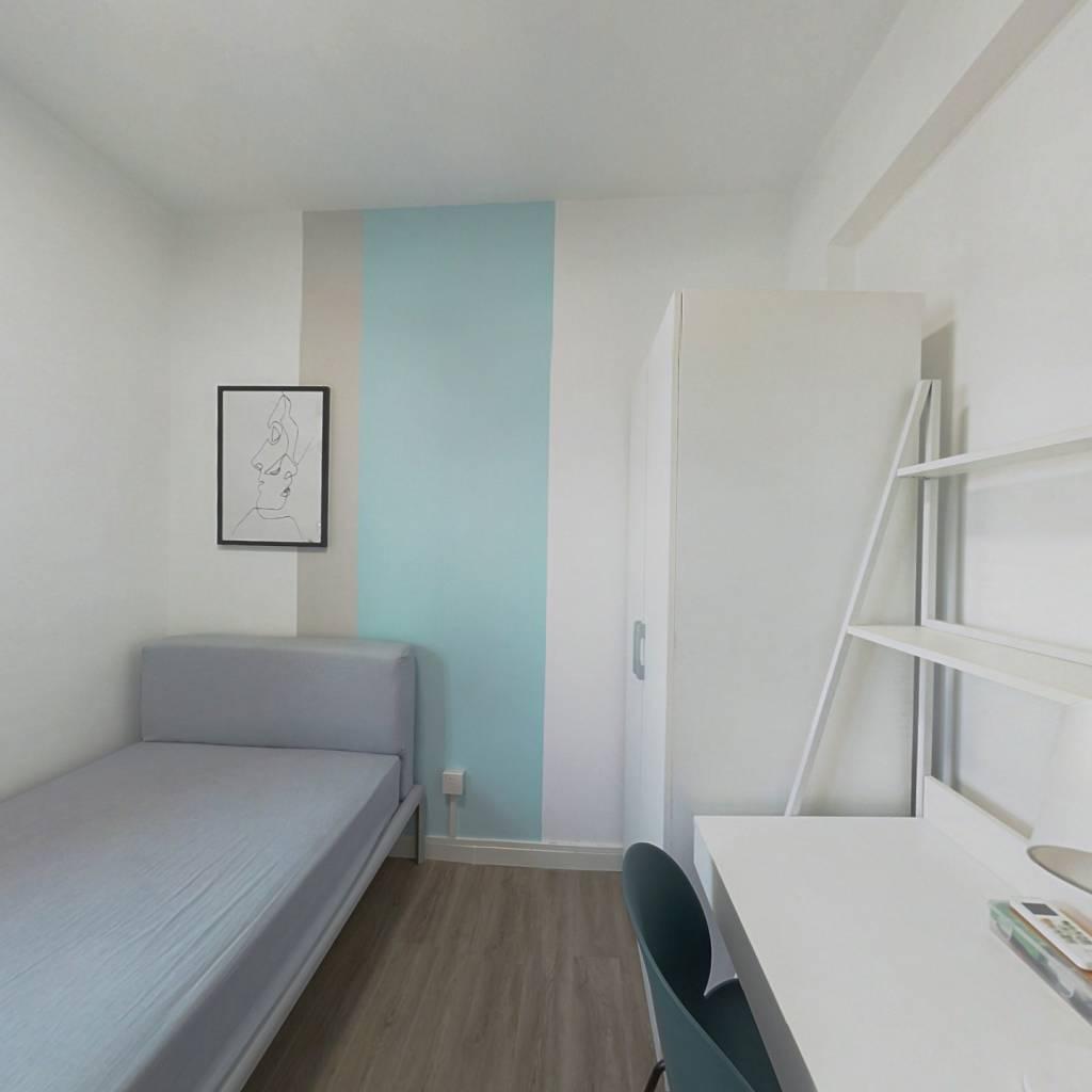 合租·东漖新村 4室1厅 西南卧室图