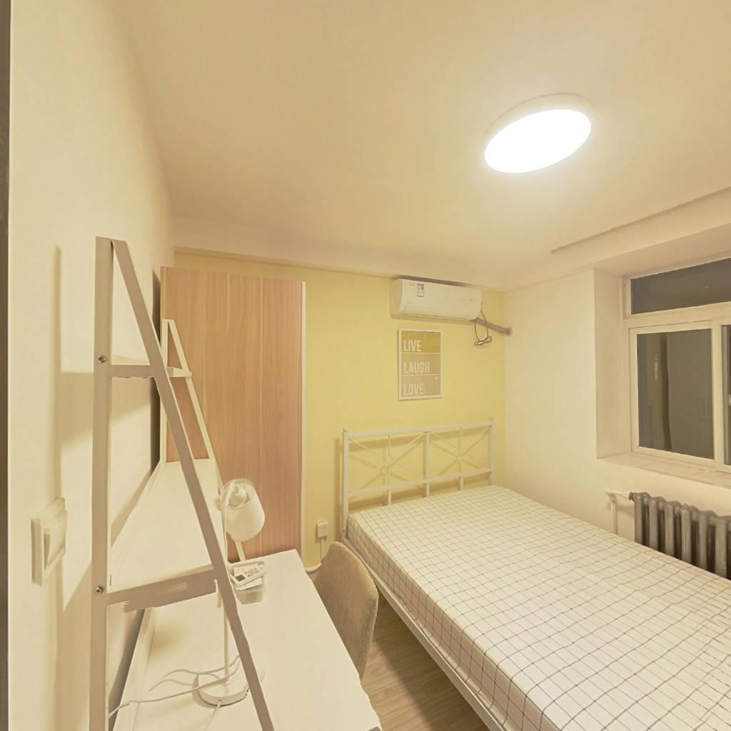 合租·天大北五村 3室1厅 北卧室图
