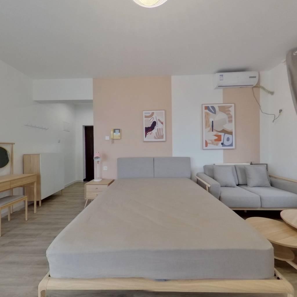 整租·金海国际南区 1室1厅 东南卧室图