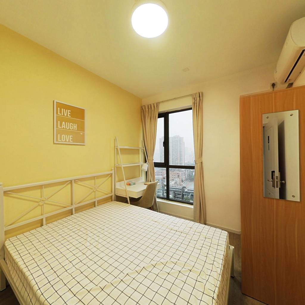 合租·绿地GIC贰期 5室1厅 南卧室图