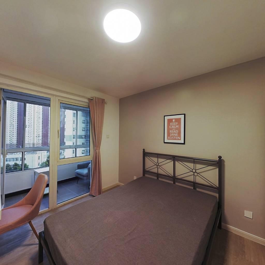 合租·莲花嘉园 4室1厅 南卧室图