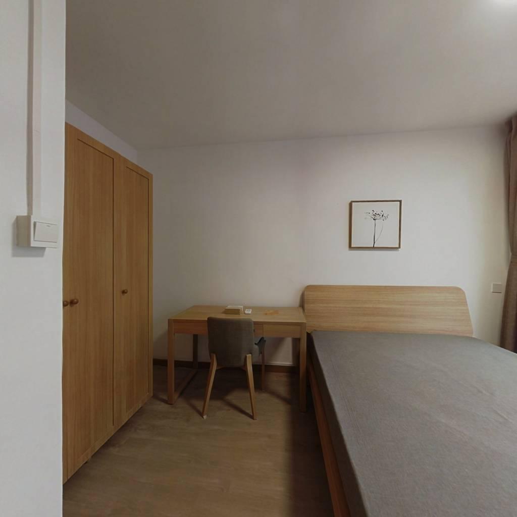 整租·虹纺小区 2室1厅 南卧室图