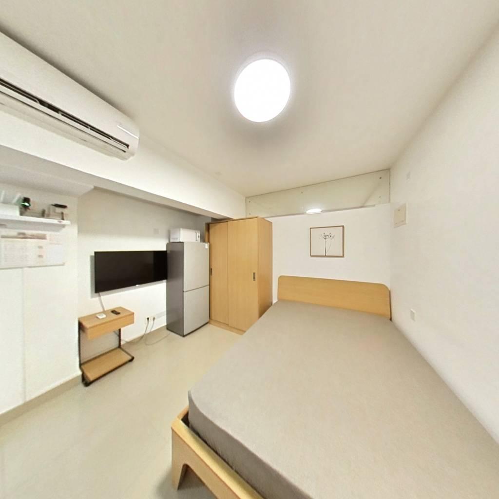 整租·国际名园 1室1厅 南卧室图