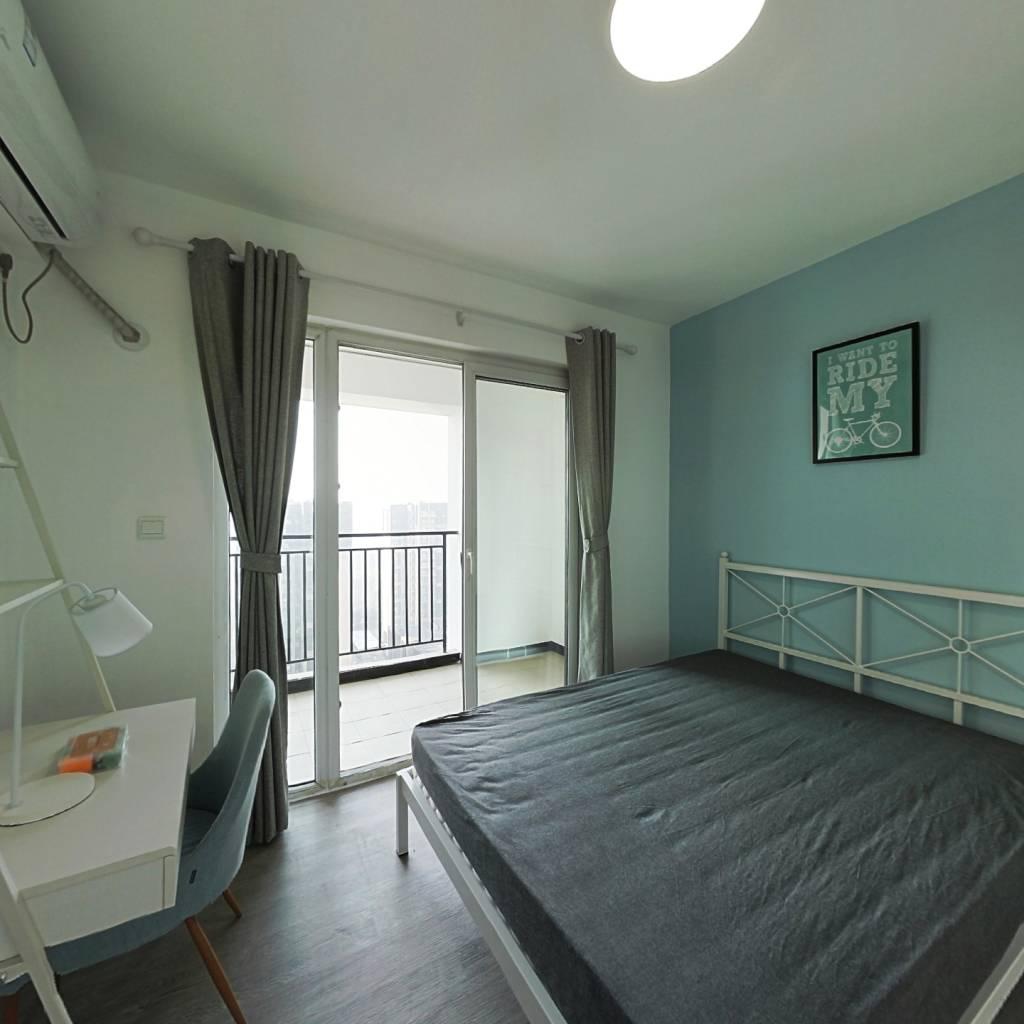 合租·上东一号一期 4室1厅 南卧室图