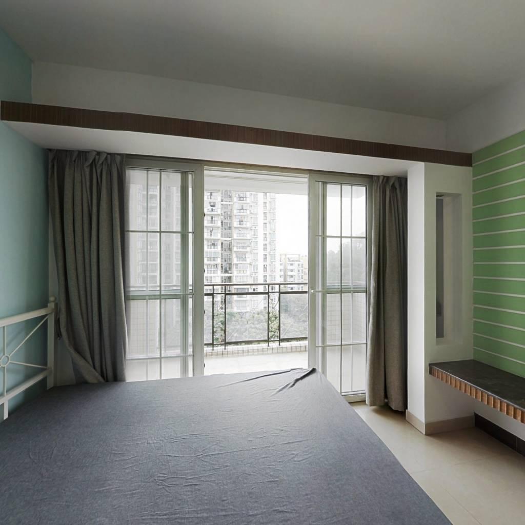 合租·橡树园 4室1厅 南卧室图