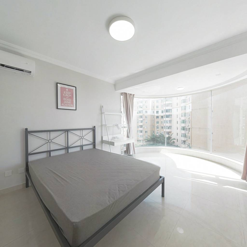 合租·新浩城花园 5室1厅 西北卧室图